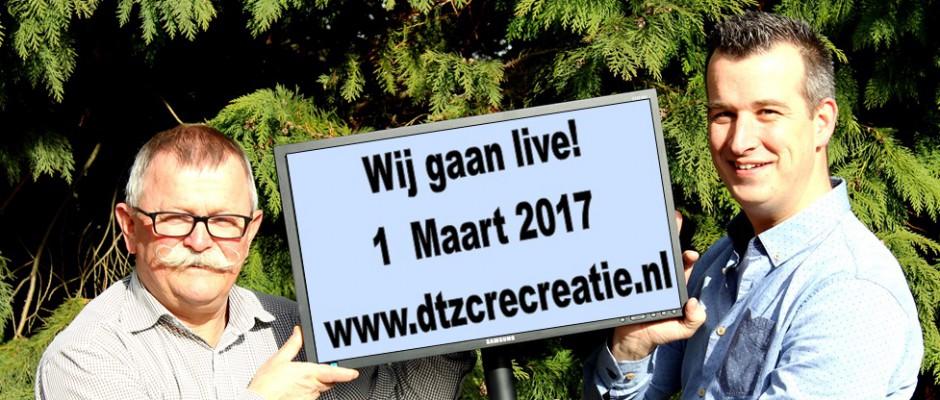 Recreatie website gaat 1 maart live: www.dtzcrecreatie.nl