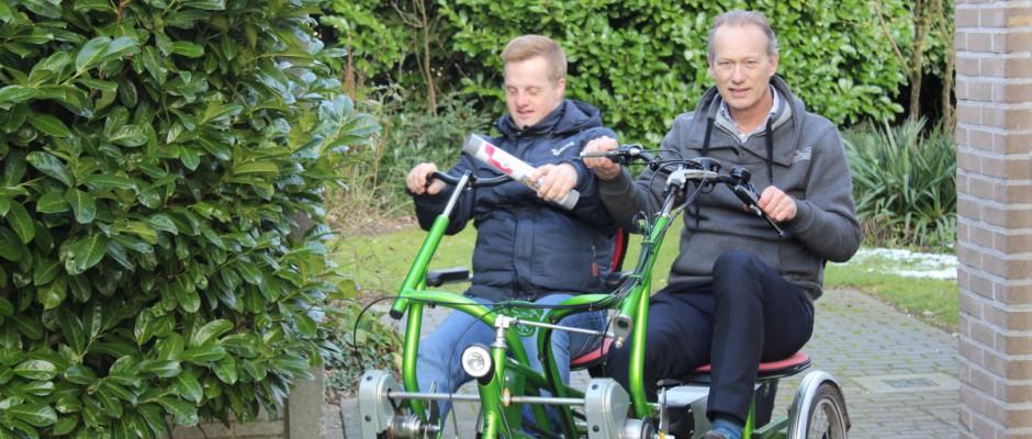 Sportieve dag voor bestuurder Harry Finkenflügel