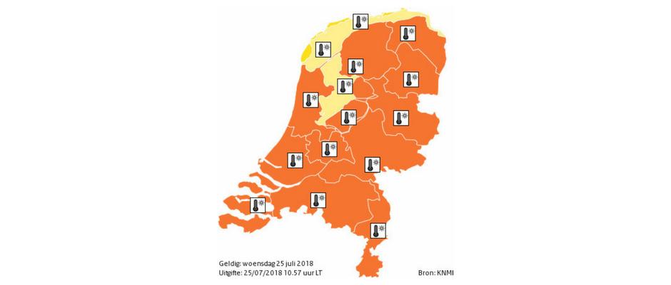 Weeralarm: Code Oranje!