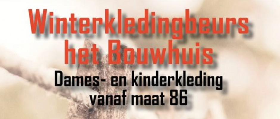 Winterkledingbeurs 't Bouwhuis op 30 september