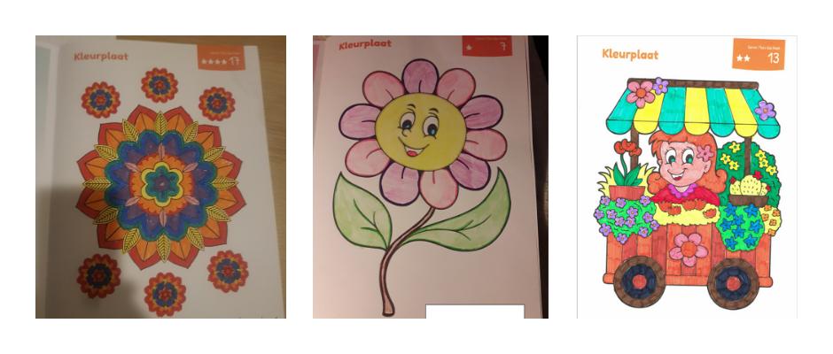 Uitslag kleurwedstrijd Samen Thuis Doe Boek