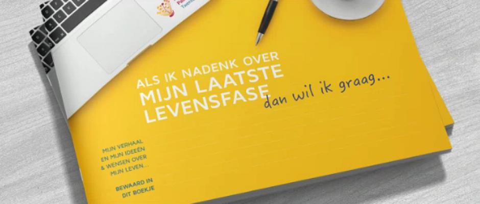 Primeur: Wensenboekje Netwerken Palliatieve Zorg Twente