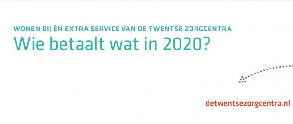 Wie betaalt wat in 2020?