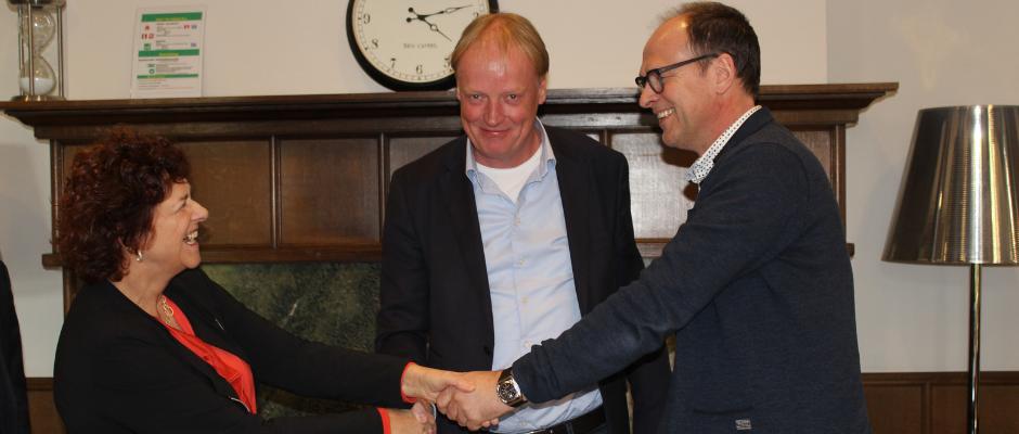 Herontwikkeling groot dagbestedingscentrum gaat van start; contracten zijn ondertekend op 25 februari 2019