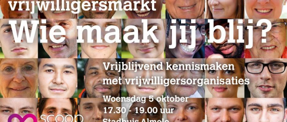 Vrijwilligersmarkt in Stadhuis Almelo