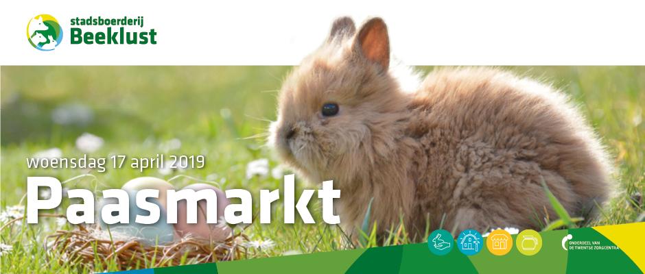 Paasmarkt Stadsboerderij Beeklust 17 april 2019