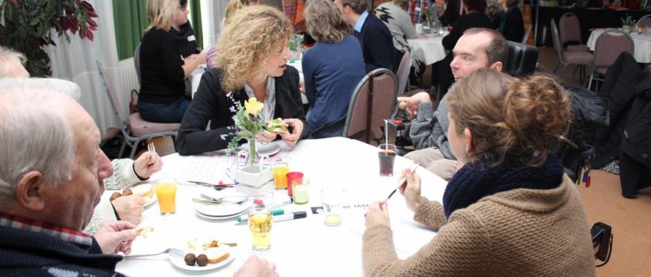 In dialoog met cliënten en vertegenwoordigers voor de Handicap Experience