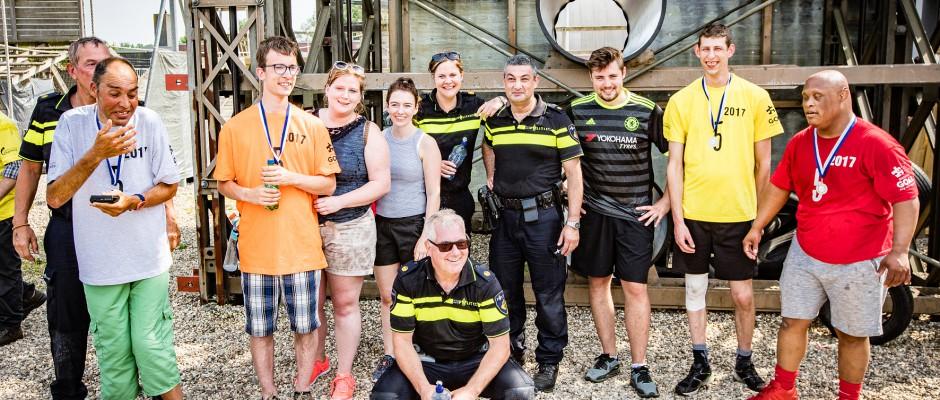 Bezoek van cliënten aan arrestantencomplex Borne