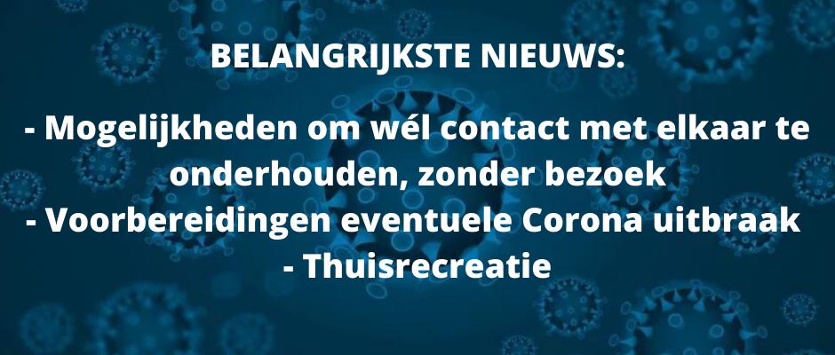 Coronavirus - stand van zaken 24 maart