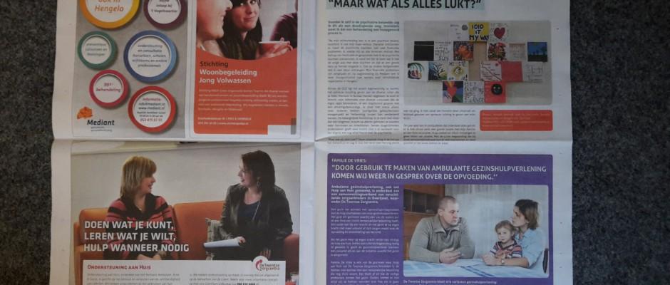 Voor u gelezen: Informatiekrant Zorg & Ondersteuning in Hengelo 2018
