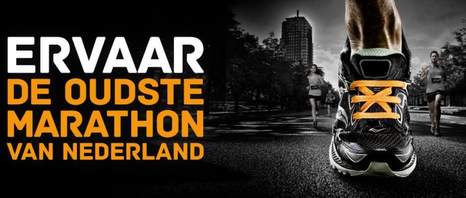 Afsluiting Blijdensteinbleekweg tijdens marathon