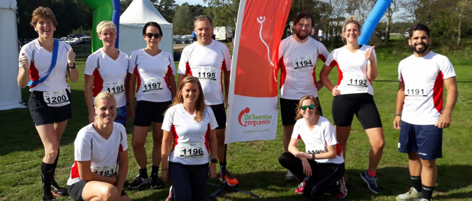 Sportievelingen doen mee met Zorgmarathon en SamenLoop voor Hoop