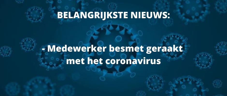 Coronavirus - stand van zaken 25 maart