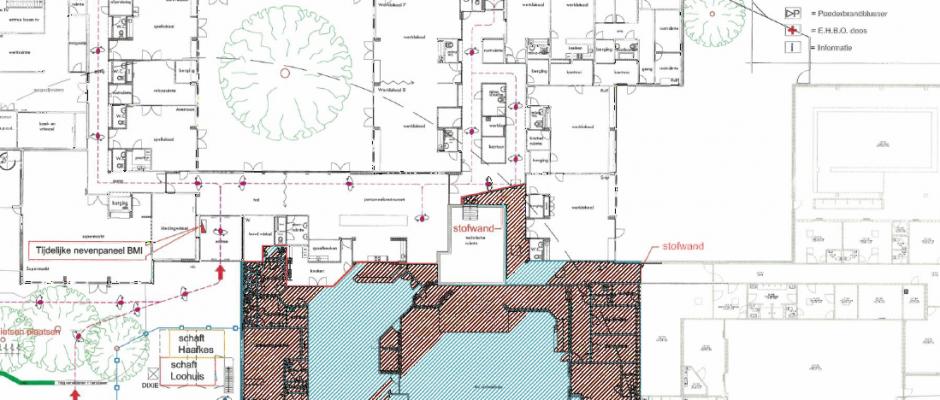 Update (1) verbouwing AB-gebouw Enschede
