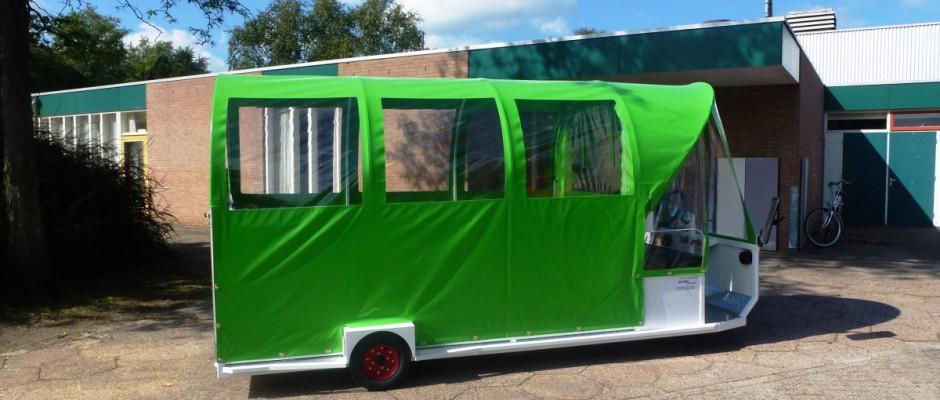 Nieuwe elektrische huifwagens