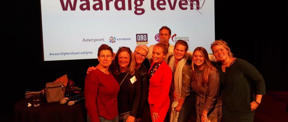 Mooie resultaten op congres 'Samen werken aan waardig leven'